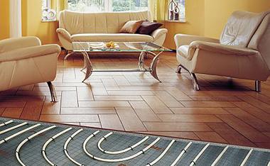 Podłogi na ogrzewanie podłogowe